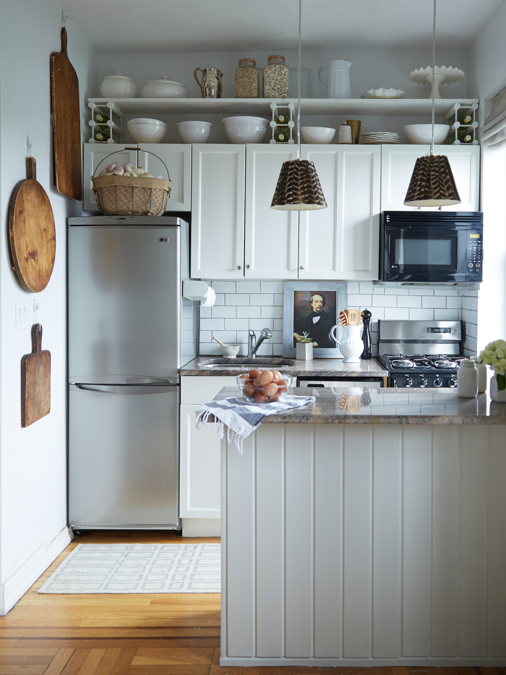 Simple Storage Upgrades for Tiny Kitchens and Beautifying Track ...