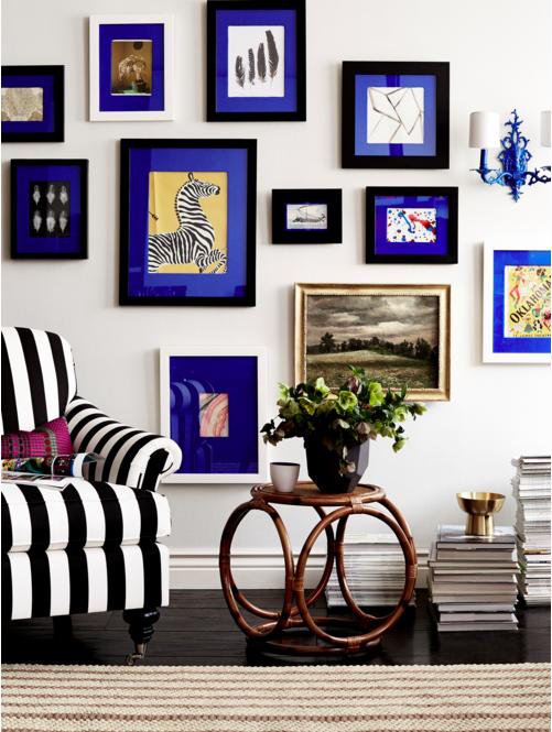 Fabric Covered Photo Mats: Make A Better Gallery Wall | Megan Pflug ...