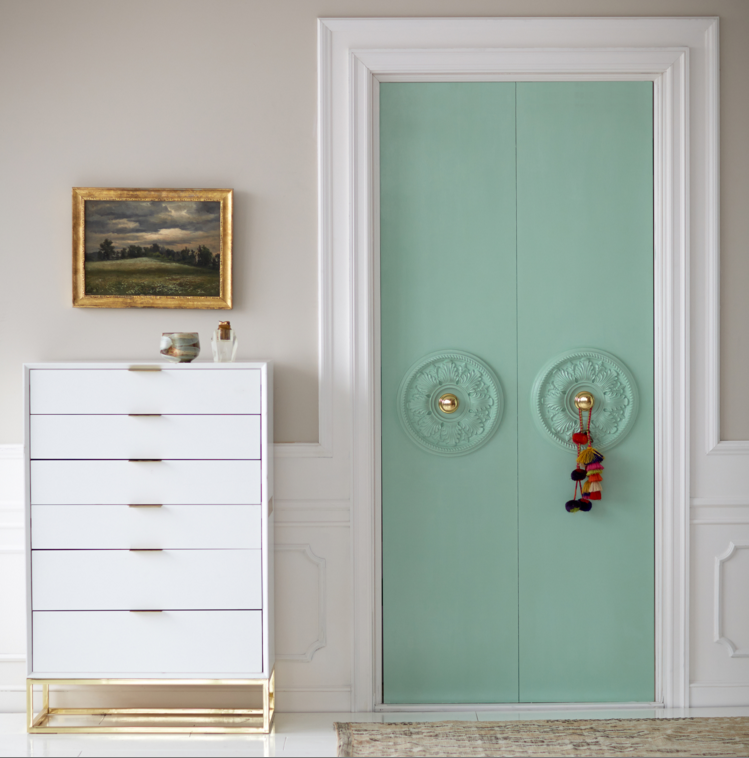 Your Plain Closet Doors Never Had It So Good Megan Pflug Designs