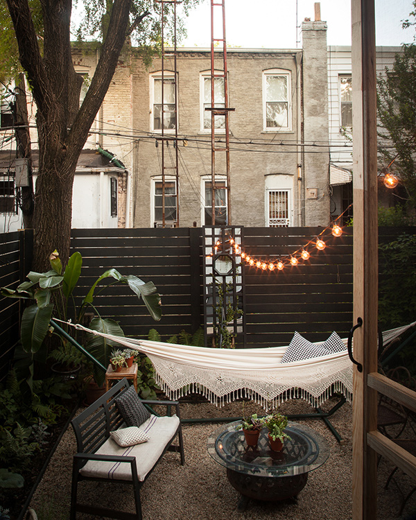 Our Brooklyn Backyard Makeover Megan Pflug Designs