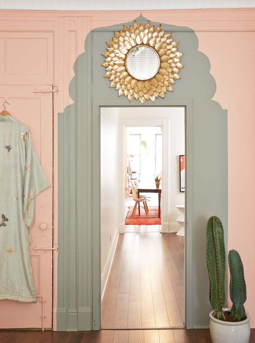 DIY PAINTED MOROCCAN DOORWAY | Megan Pflug Designs