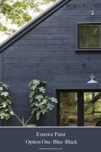The Woodhouse Lodge // paint ideas