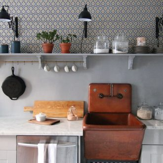 A Mini Kitchen Makeover